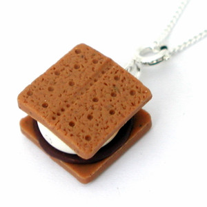 smore necklace by inedible jewelry