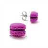 cassis macaron studs by inedible jewelry