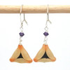 poppyseed hamantaschen earrings by inedible jewelry