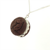whoopie pie necklace by inedible jewelry