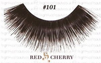 Red cherry lashes #101