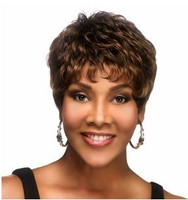 Vivica A Fox H222 Short Layer Wig Pure Stretch Cap