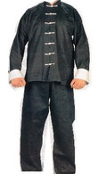 Black Kung Fu/ Tai Chi Uniform