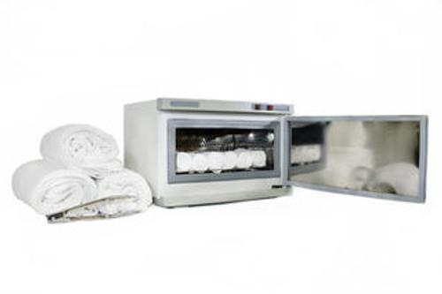 single hot towel warmer cabinet uv sterilize including 36 facial towels facial nail spa beauty salon