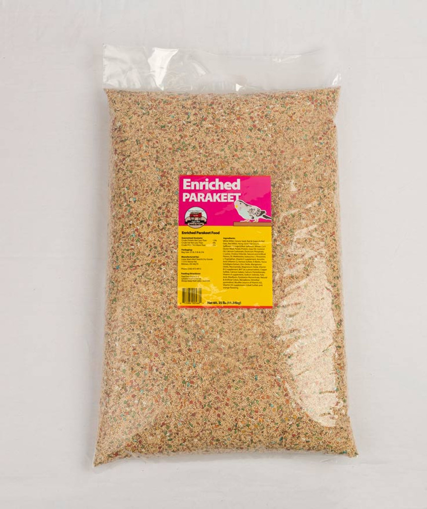 Enriched Parakeet Food