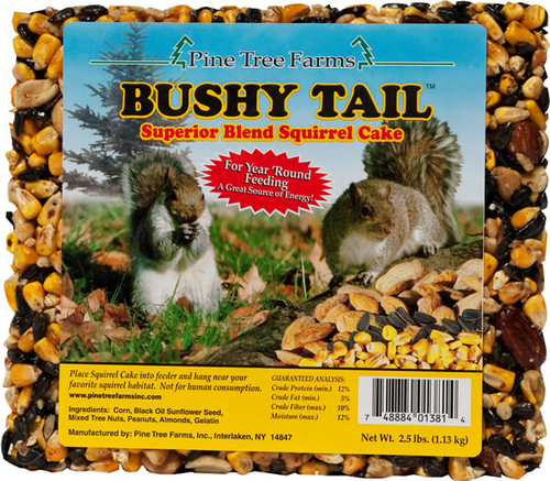 Bushy Tail Cake
