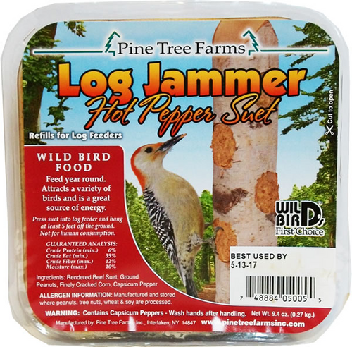 Log Jammer Hot Pepper Suet