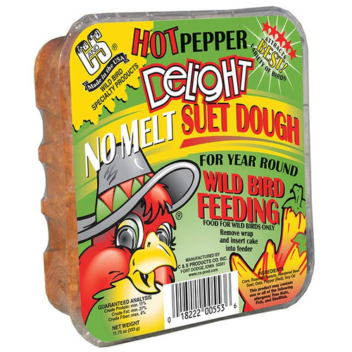 Hot Pepper Delight No Melt Suet Dough