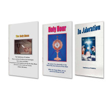 3 Book Special on the Eucharist - English - The Holy Mass, Holy Hour and In Adoration