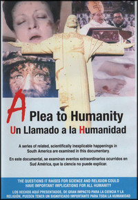 DVD - A Plea To Humanity - English and Spanish