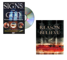 Small Bundle - Reason to Believe Book & Signs From God DVD