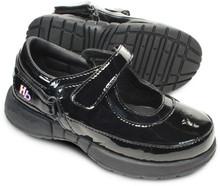 Hatchbacks Ava Girls Shoe : Patent Black Approximate Shipping Date 9/25/17