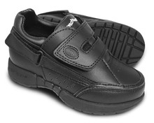 Hatchbacks Freestyle Kids Shoe : Black Leather