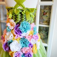 Garden Fairy Tutu Dress Tutorial