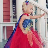 Super Hero Tutu Dress Tutorial