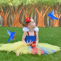 Snow White Tutu Dress Tutorial