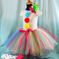 Clown Tutu Tutorial