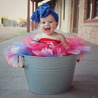 Little Miss America Tutu Dress DIY