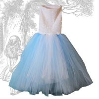Alice in Wonderland Tutu Dress Tutorial