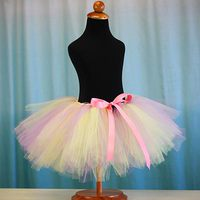 No Sew Pastel Tutu Tutorial