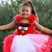 Angry Bird Tutu Dress DIY