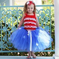 July 4th Flag Tutu Tutorial