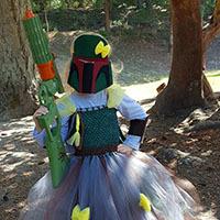 Princess Bounty Hunter Tutu Dress DIY