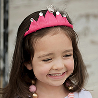 Ribbon Princess Crown DIY