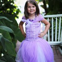 Lavender Princess Tutu Dress Tutorial