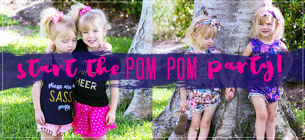 start the pom pom party