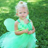 Green Fairy Tutu Dress Tutorial