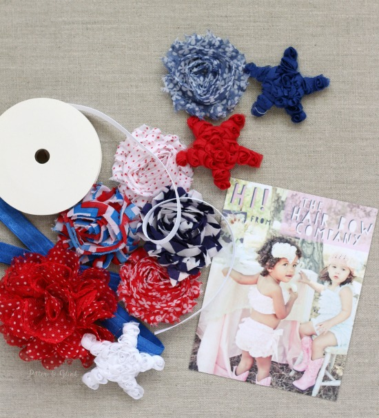 diy 4th of july place cards the hair bow company