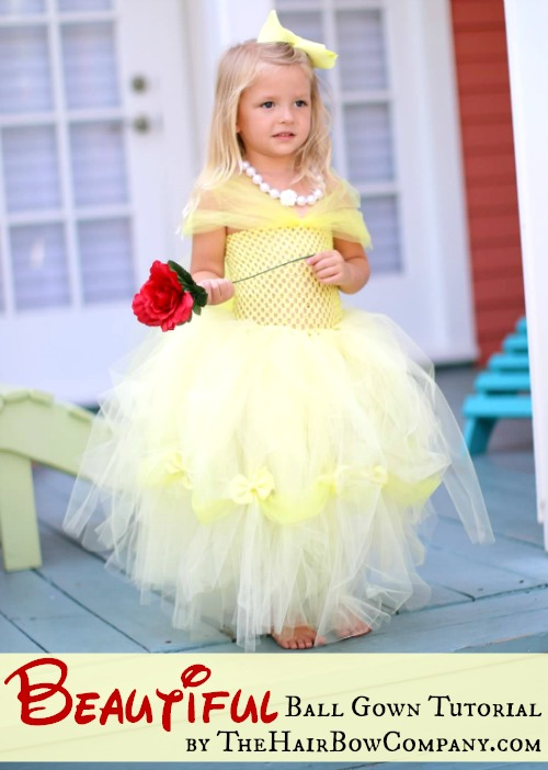 Beautiful Princess Ball Gown - The Hair Bow Company