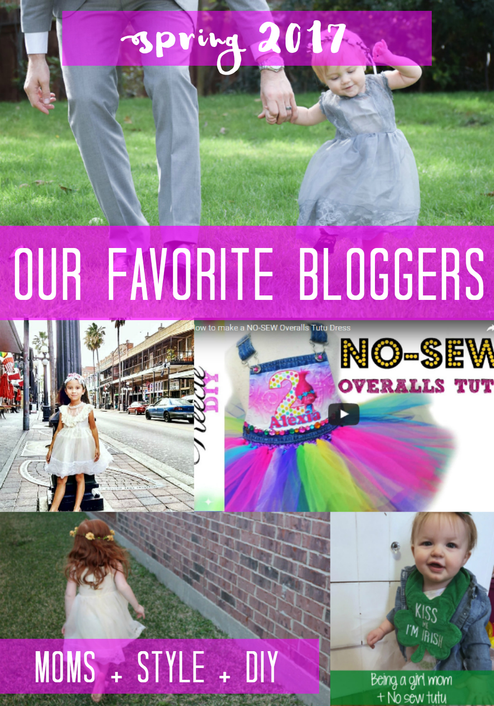 Top Mom, Style, and DIY Bloggers