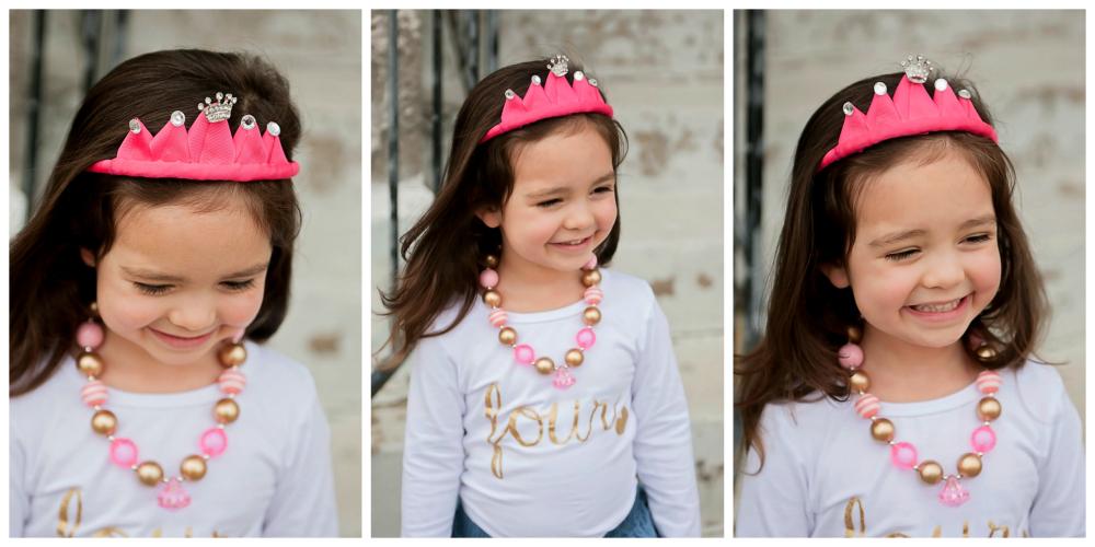 DIY Ribbon Princess Crown Headband Tutorial