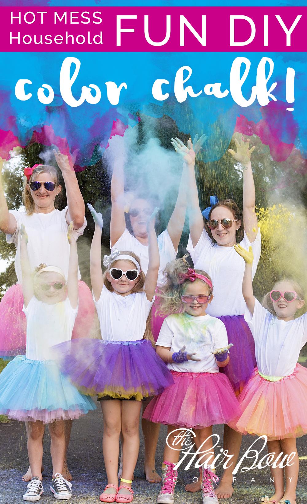 DIY Color Chalk Photo Basics   How To Avoid My Mistakes!   The Hair Bow  Company