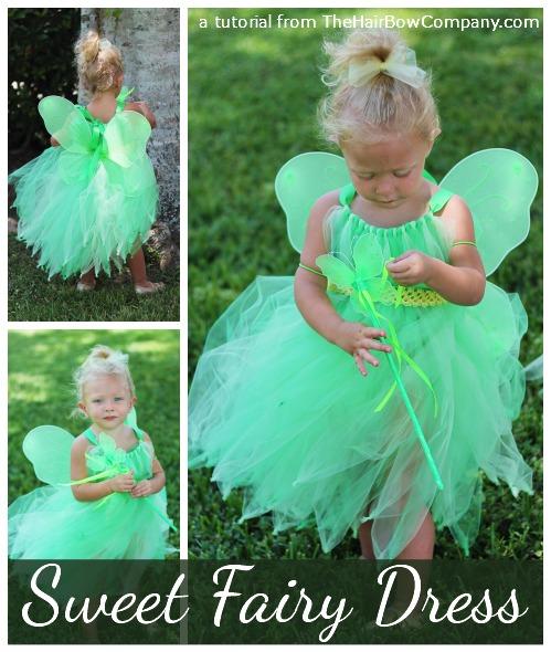 Fairy tutu dress tutorial the hair bow company diy fairy tutu dress solutioingenieria Images
