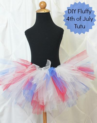 Diy fluffy 4th of july tutu the hair bow company diy tutu solutioingenieria Images