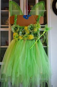 diy tinkerbell tutu dress