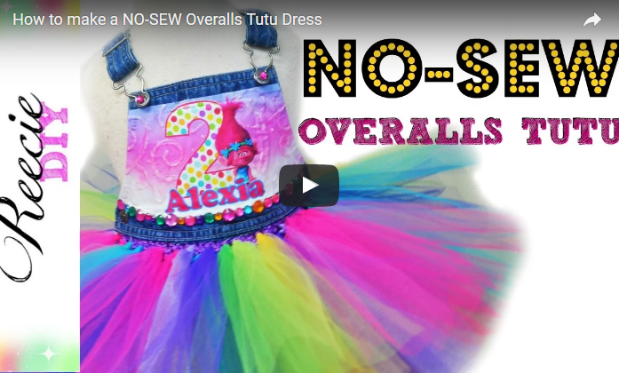 How to Make a New Sew Overall Tutu