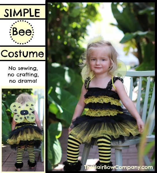 Easy bumble bee costume craftbnb easy bumblebee and ladybug costumesthe hair bow company solutioingenieria Choice Image