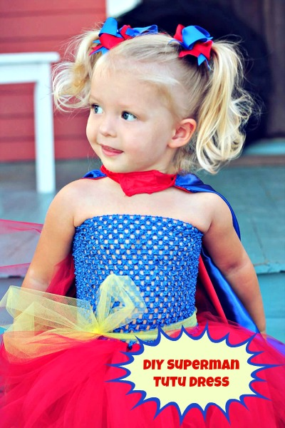 diy superhero tutu dress