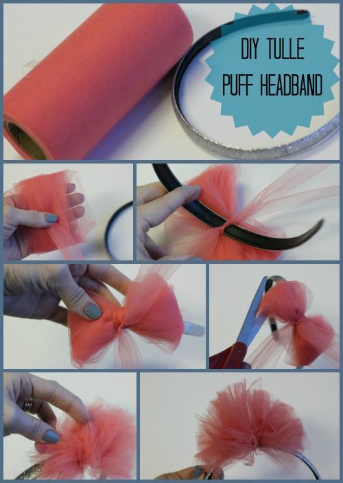 Tulle Puff Headband The Hair Bow Company