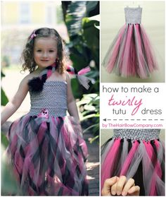 Twirly Rockstar Tutu Dress The Hair Bow Company
