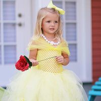 Belle Inspired Ball Gown Tutu Dress Tutorial