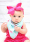 Hot Pink Classic Oversized Grosgrain Hair Bow