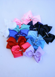 Texas Size Grosgrain Hair Bow