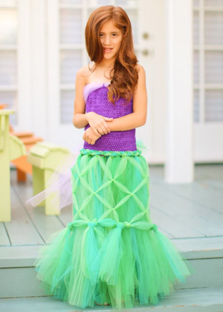 DIY Mermaid Tutu Dress