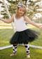 Black tutu for girls age 2-8 years.