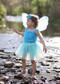 Turquoise tutu for girls 2-8 years.